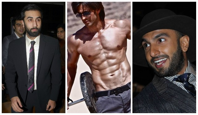 Ranbir Kapoor, Hrithik Roshan, Ranveer Singh
