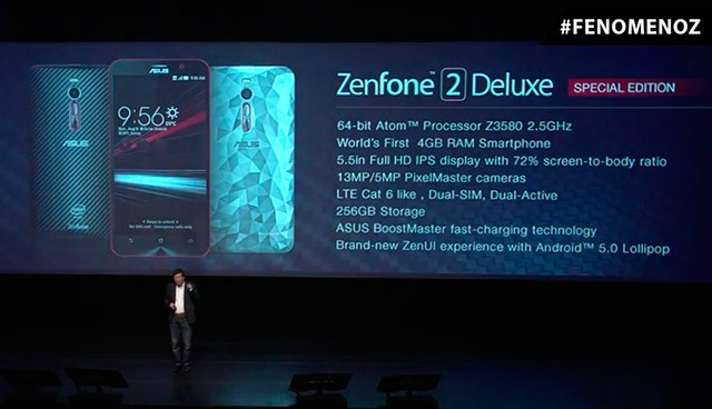 Asus Launches Zenfone 2 Deluxe Special Edition With 256GB Storage