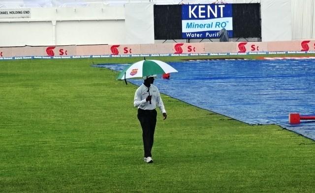 Rain West Indies India