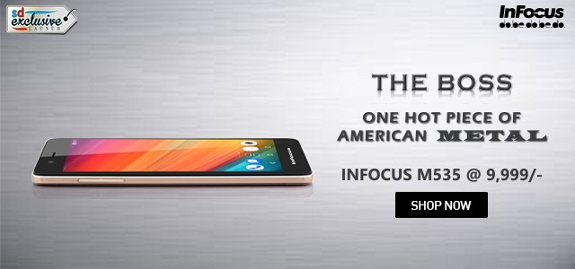 Budget smartphone InFocus M535 with Metal-body launched in India; price, specifications