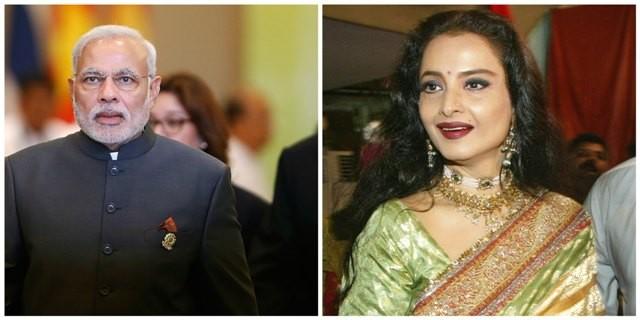 Modi and Rekha