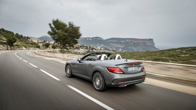 Mercedes-Benz AMG SLC 43 is expected to be priced at over Rs. 1 crore