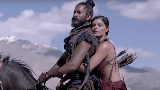 Harshvardhan Kapoor and Saiyami Kher in Mirzya