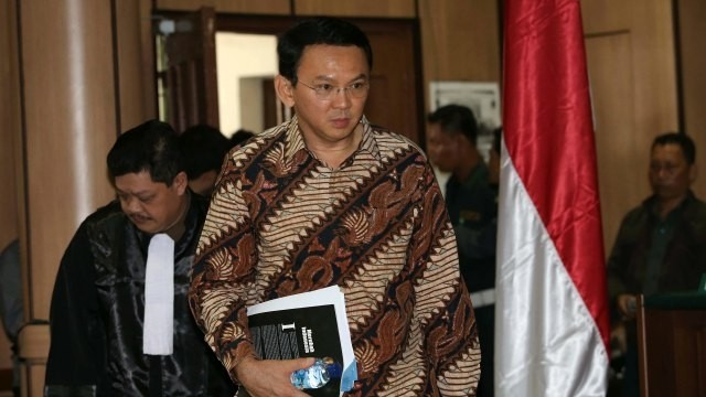 'This is unfair': Jakarta governor lawyer