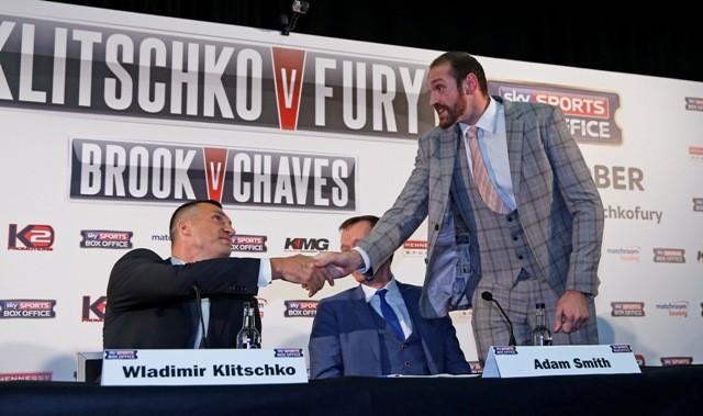 Wladimir Klitschko - Fury