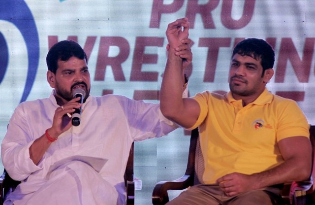 sushil kumar pro wrestling league