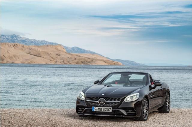 Mercedes-Benz AMG SLC 43 will replace SLK model range in India