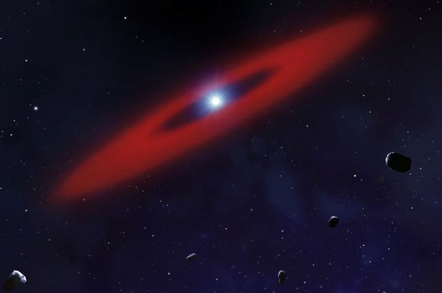 Astronomers find object similar to Halley's comet, but 100000 times bigger