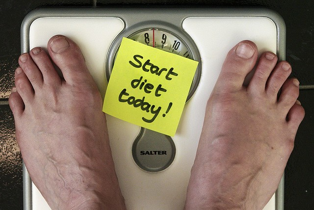 Dieting, Weighing Scale