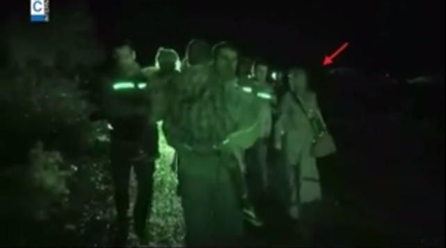Al Baghdadi's wife and children during the prisoner exchange