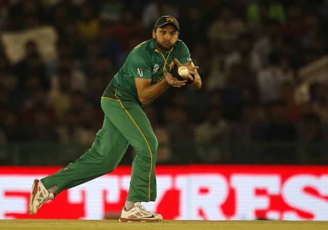 Shahid Afridi Pakistan World T20 2016