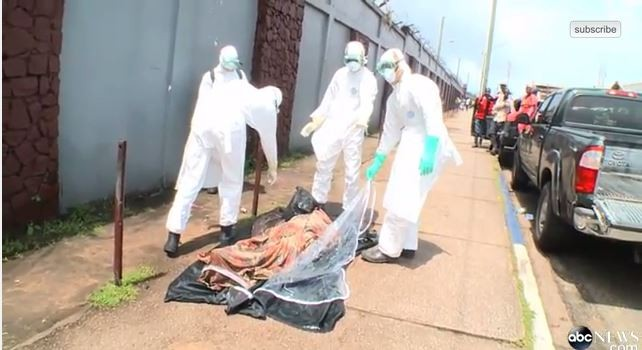 Ebola victim rises from the dead