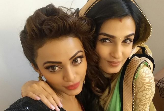 """Sarojini"" to go off air. Pictured: ""Sarojini"" co-actors Shiny Doshi and Soni Singh"