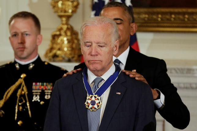 Obama Brings Joe Biden To Tears With Suprise Presidential Medal Of Freedom