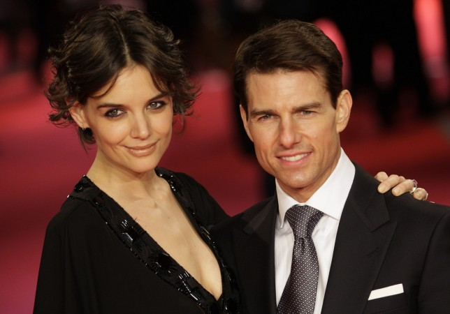Katie Holmes & Jamie Foxx Visit Paris… with Tom Cruise Filming Nearby