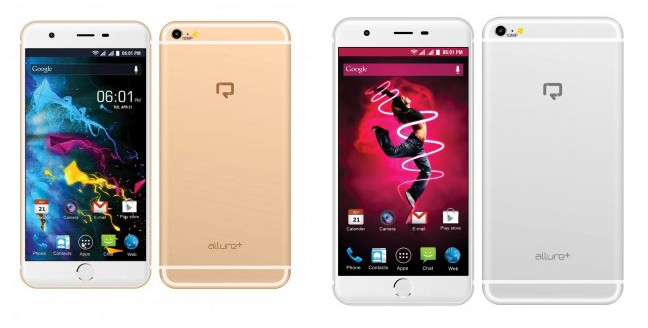 Reach Allure  is an iPhone 6 Plus twin with 10MP camera, 5.5-inch screen; available at Rs. 5,444