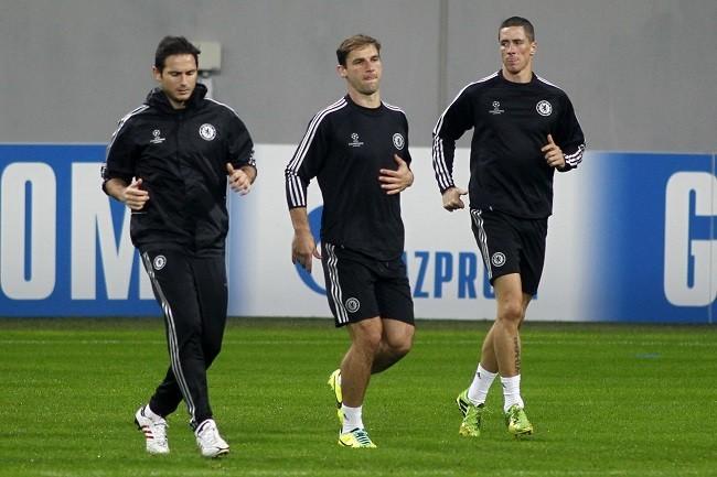 Lampard Ivanovic  Torres Chelsea