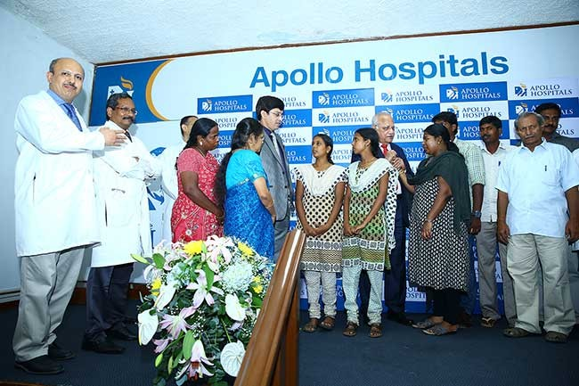 Apollo Hospitals Chennai harvested 23 organs in a day.