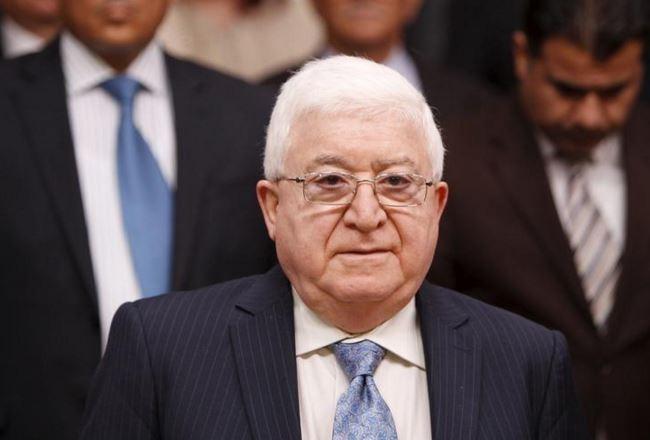 Iraqi President Fouad Massoum