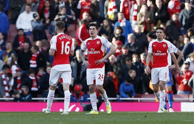 Ramsey Bellerin Gabriel Arsenal