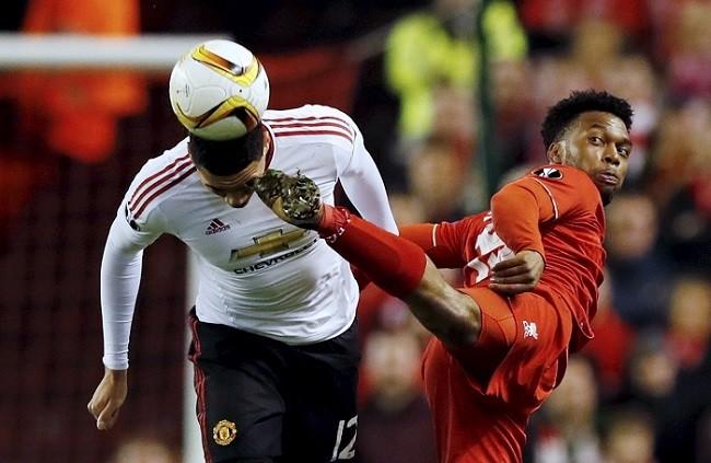 Chris Smalling Manchester United Daniel Sturridge Liverpool