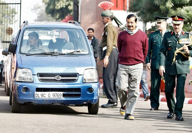 Auto once used by Arvind Kejriwal stolen