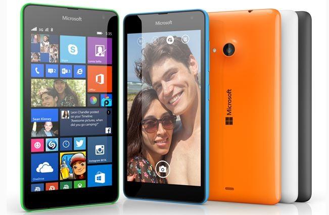Microsoft Launches First Non-Nokia Smartphone Lumia 535