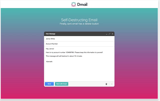 Dmail, Freemium Chrome Extension allows you to Retract Emails even After Sending Long Back