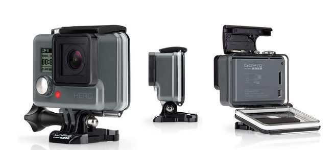 GoPro launches entry-level Hero  action camera with Wi-Fi: Drops Hero 4 Session price by $100