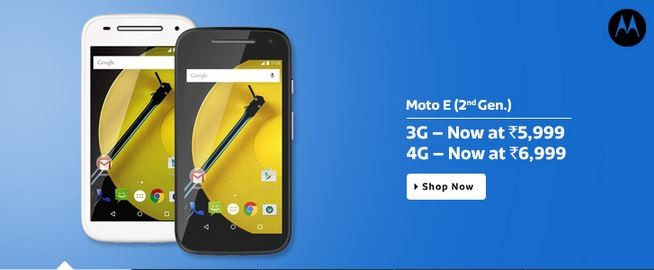 Motorola Moto E (2nd Gen) Price Slashed in India, Available for Less Than ₹4,000 via Flipkart Exchange Deal