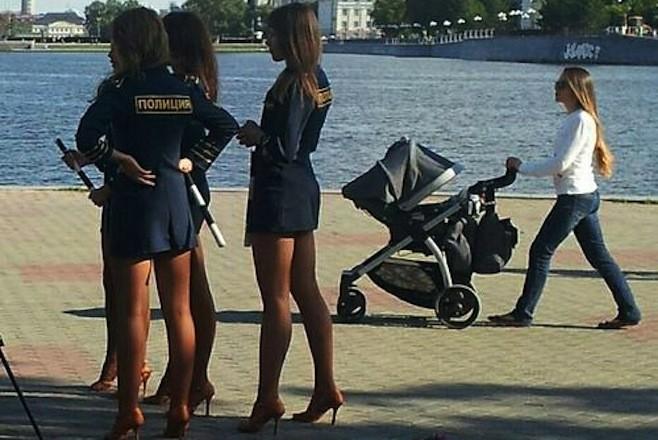 Russian police woman