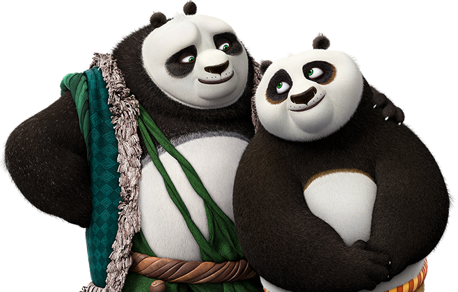 Kung Fu Panda 3 - Li and Po
