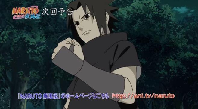 Sasuke beocmes the Rogue Ninja in Episode 444