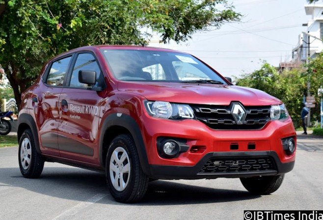 renault kwid 1 0 litre to debut at auto expo 2016 production begins ibtimes india. Black Bedroom Furniture Sets. Home Design Ideas
