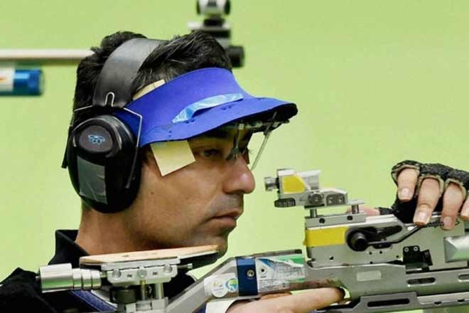 Abhinav Bindra,Shooter Abhinav Bindra,Abhinav Bindra misses bronze,Rio Olympics 2016,Rio Olympics,Rio 2016 Live,Rio Olympics 2016 Shooting