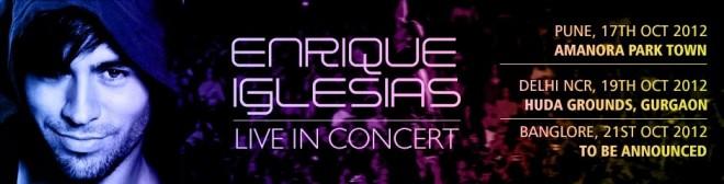 Enrique Iglesias to perform in India