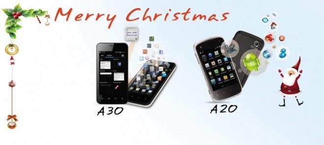 Videocon unveils A20, A30 Android dual SIM smartphones