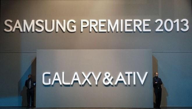 SAMSUNG PREMIERE 2013 GALAXY & ATIV' in London