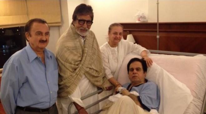Dilip Kumar, Amitabh Bachchan