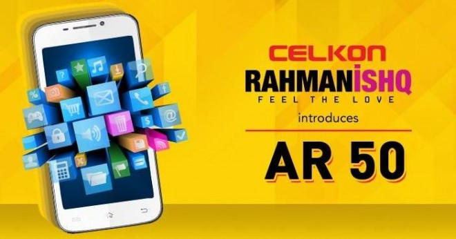 Celkon RahmanIshq AR 50: 5.0-Inch Android Smartphone Launched in India for ₹8,499