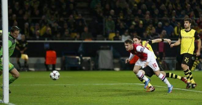 Ramsey Arsenal Borussia Dortmund