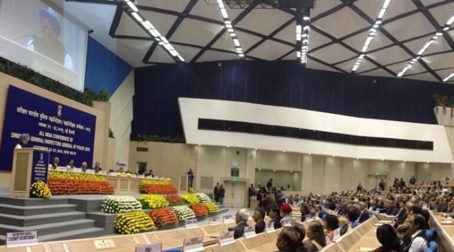 PM Manmohan Singh at the IB conference in Delhi