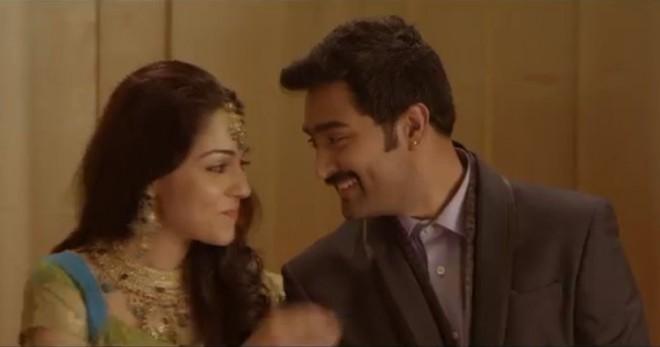 Screenshot from official teaser of Kalyana Samayal Saadham (YouTube)