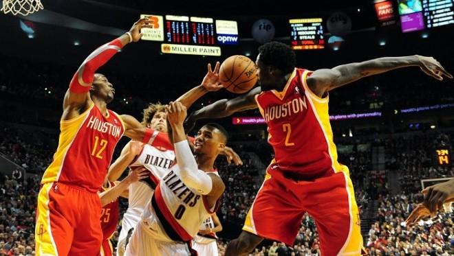 Dwight Howard Houston Rockets Portland Trail Blazers