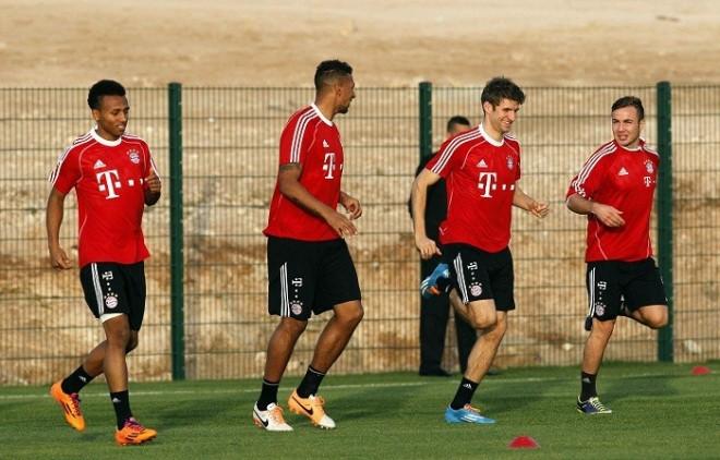 Bayern Munich Muller Gotze Boateng