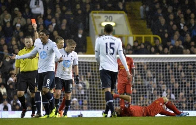 Paulinho Tottenham Liverpool Holtby