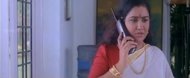 "Urvashi's screenshot from film ""Panchanthiram"""