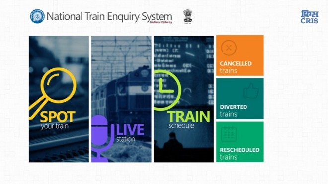 Indian Railways Launches New Mobile App to Track Train Timings