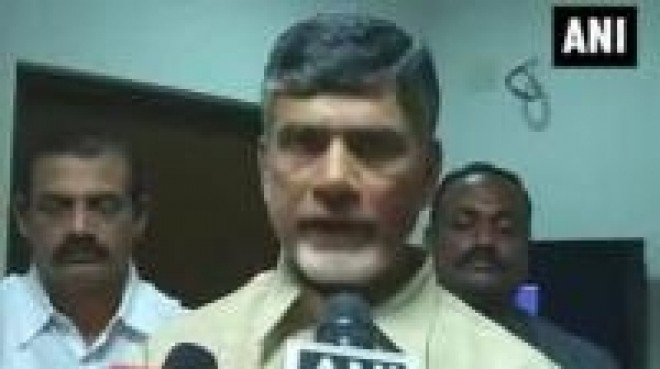 Congress did nothing during their 10 years in power: Chandra Babu Naidu