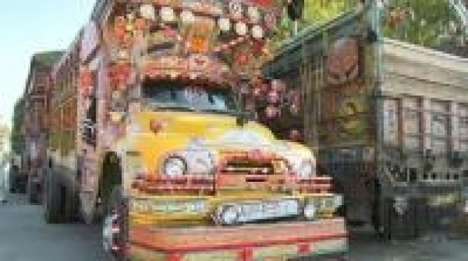 Pakistan's truck art masters fear end of NATO mission